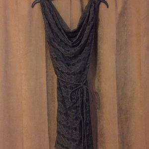 Calypso St Barth gray dress; fully lined; XS; NWOT